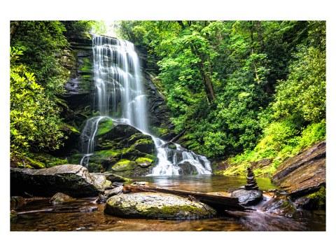 Wasserfall Motiv